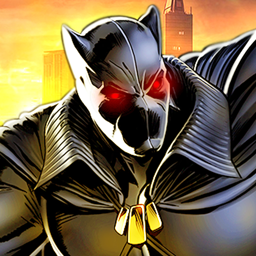 Grand Superhero Panther Flying City Rescue Mission