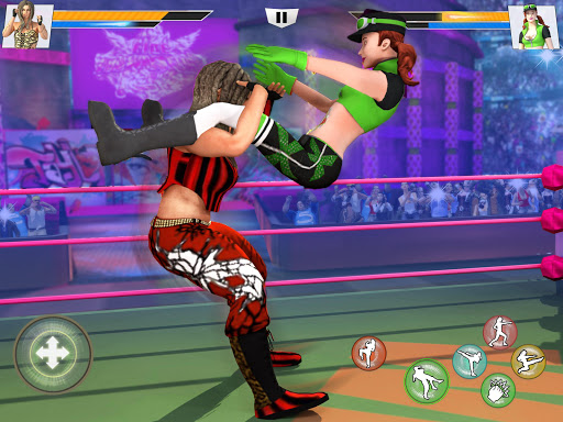 Bad Girls Wrestling Rumble: Women Fighting Games 1.1.5 screenshots 8