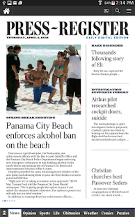 The Press-Register - screenshot thumbnail
