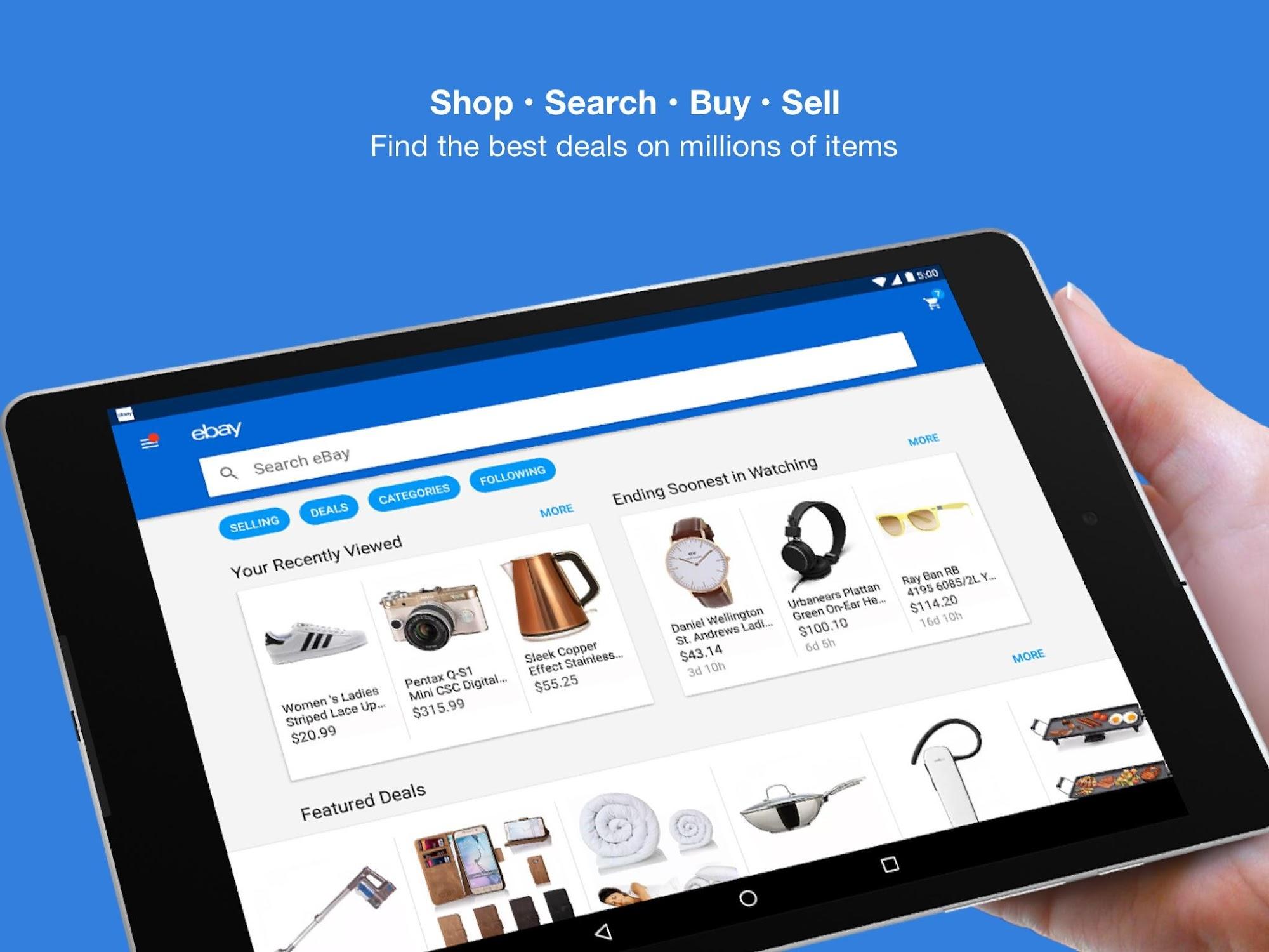 eBay - Buy, Sell, Bid & Save screenshot #6
