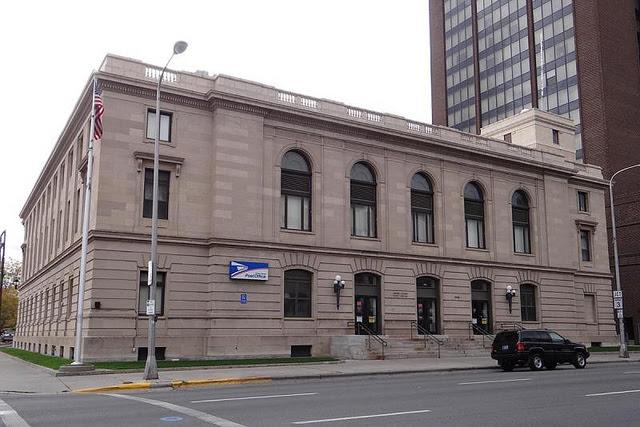 Billings, MT downtown post office, 2012