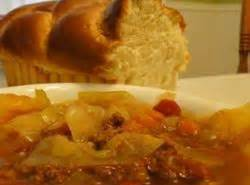 Sweet Russian Cabbage Soup Recipe