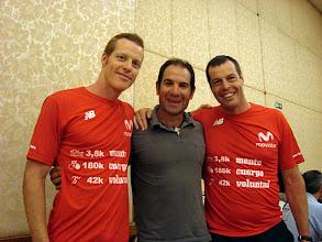 Photo: Chris, Matias Marquez, Jorge