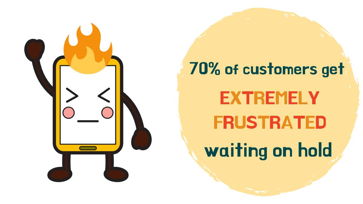 customer frustation