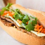 Vietnamese Pork Sausage Sandwich