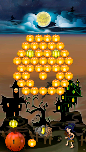 Pumpkin Bubble Shooter