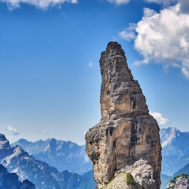 Campanille di Val Montanaia by Igor Gruber - Nature Up Close Rock & Stone ( nature, moutains )