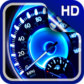 Speedometer Live Wallpaper HD