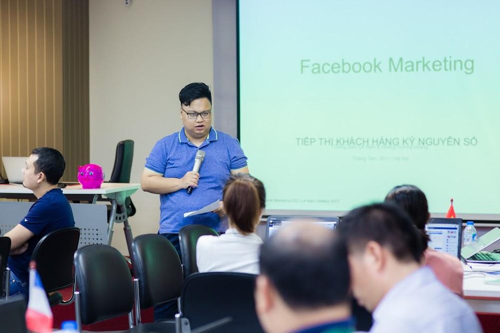 Hình ảnh khoá học Facebook Marekting K32