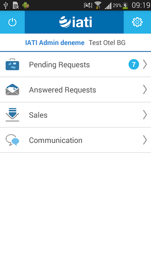 IATI communicator- screenshot
