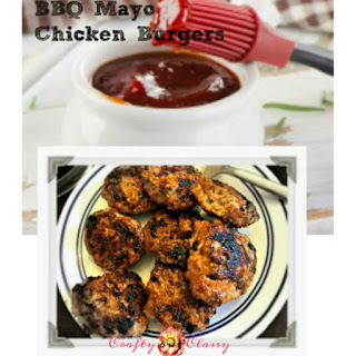 Chicken Burgers With BBQ Mayo