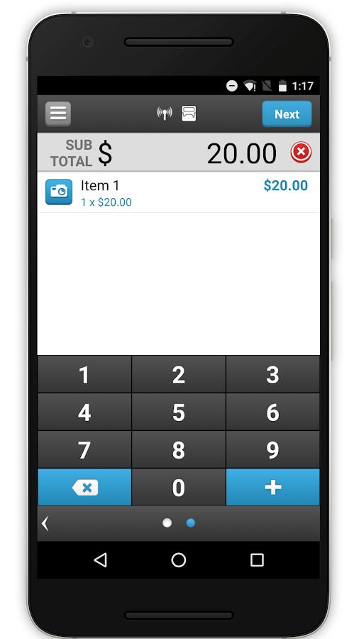 ROAMpay™ X4- screenshot