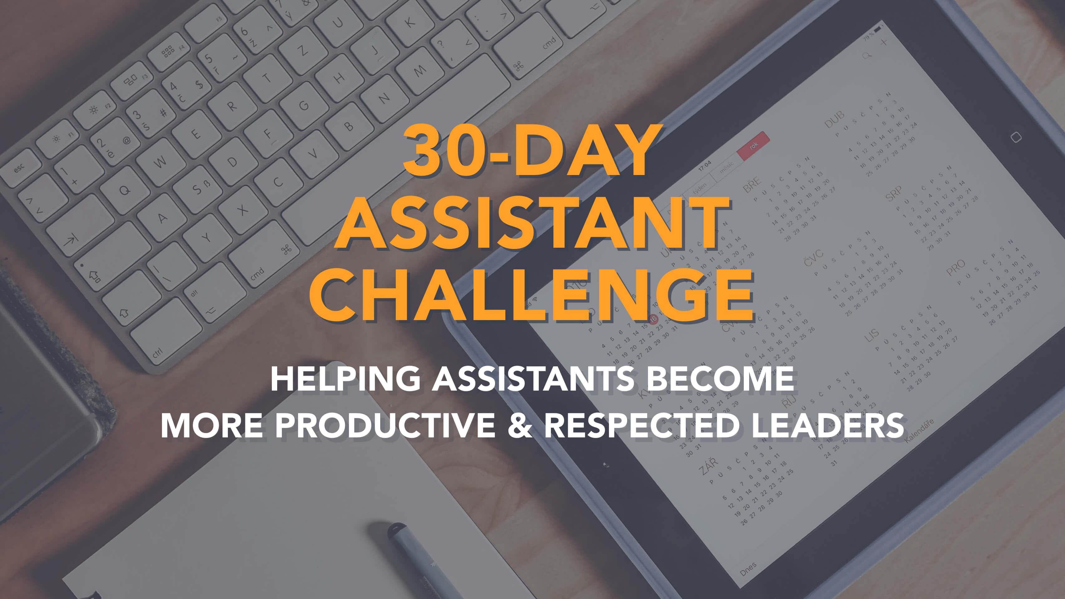 Assistant Challenge Details