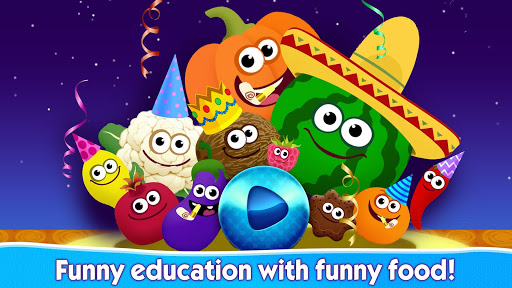 FUNNY FOOD 2! Educational Games for Kids Toddlers! 1.2.4.25 screenshots 6