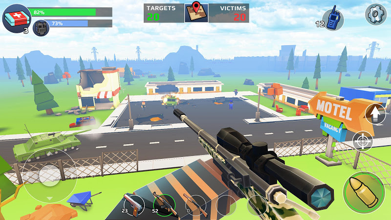 PIXEL'S UNKNOWN BATTLE GROUND Screenshot 4