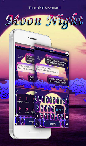 TouchPal Moon Night Keyboard