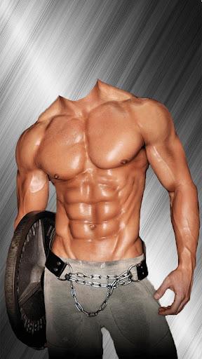 健身房人体写真机