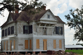 Photo: This farmhouse had been rotting away for at least the last 10 years we passed it, until now.