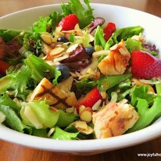 Wendy's Copycat Berry Almond Chicken Salad