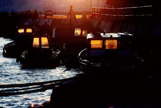Foto: Frankreich, Marseille, alter Hafen, 1982 (France, Marseille, old port, 1982) © Eckhard Supp