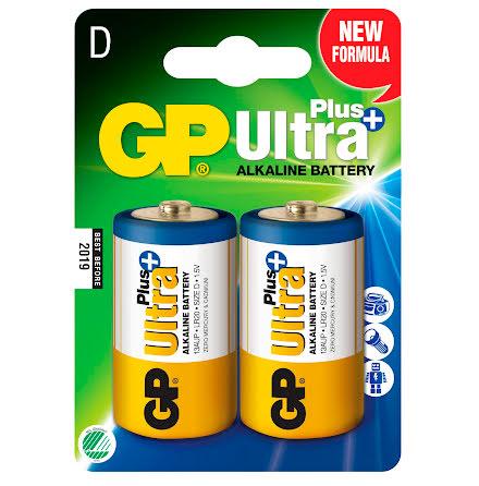 Batteri GP Ultra Plus D 2/fp