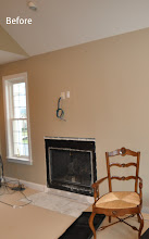 Photo: (Before) Fire place