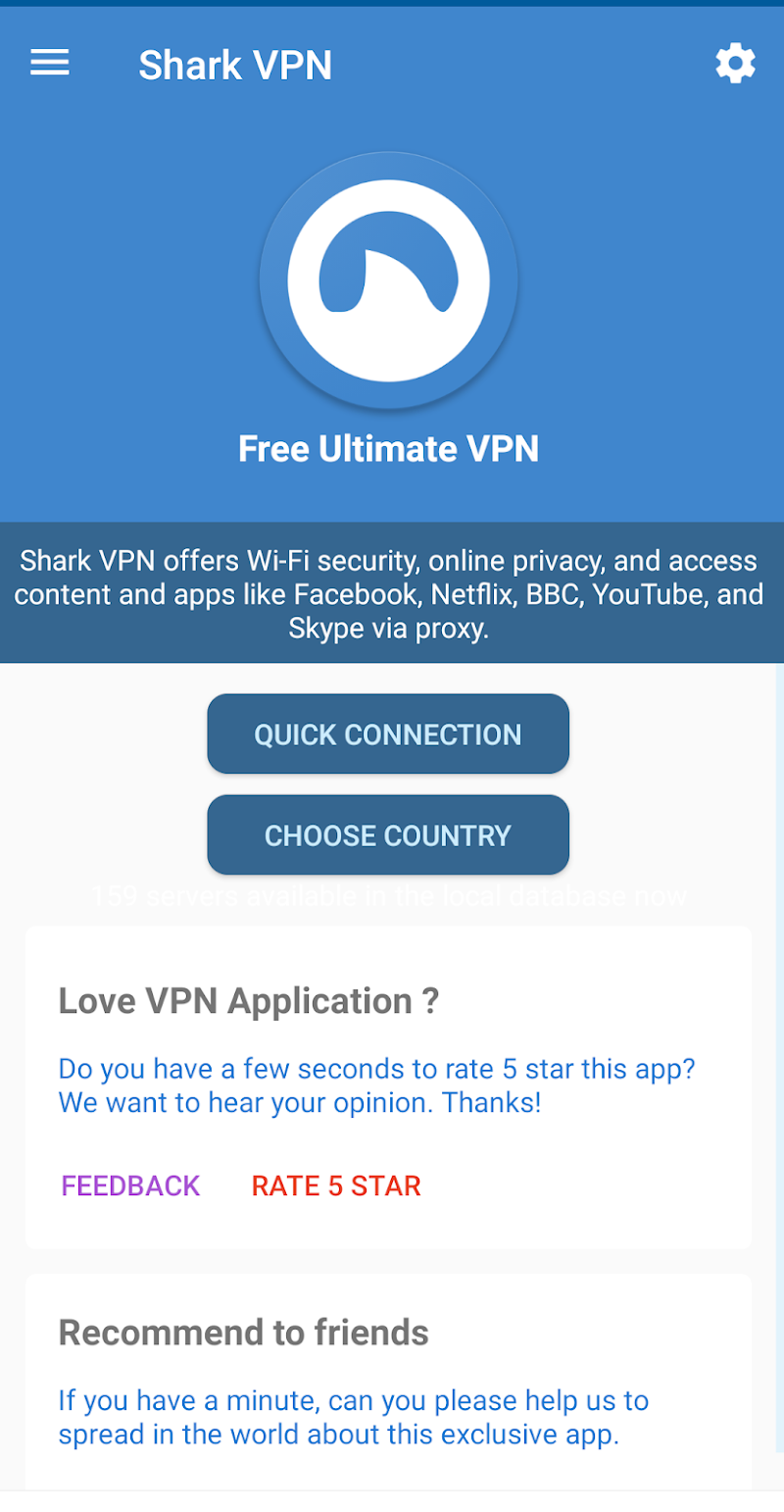 Shark VPN : Fast VPN Proxy Master APK Cracked Free Download