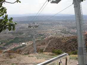 Photo: Çalışmayan teleferik Akropolis-26.09.2010
