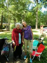 Photo: Gyandevi and Aimee at Hagg Lake picnic