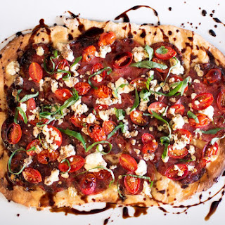 Italian Salami Flatbread with Balsamic Reduction Recipe