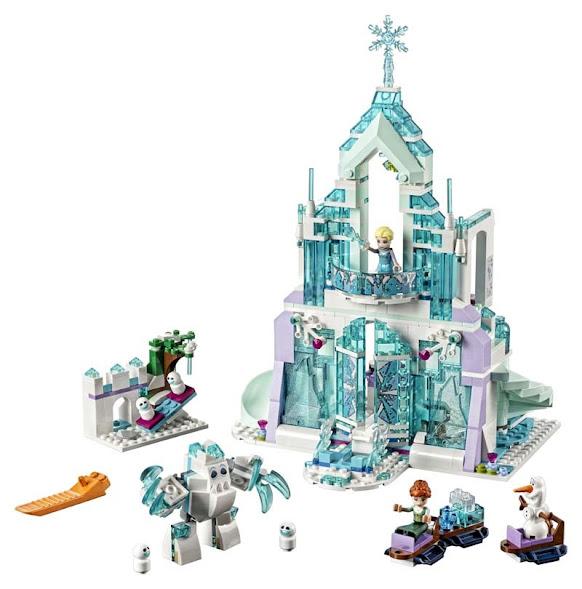 Contenido de Lego® 41148 Palacio Mágico de Hielo de Elsa