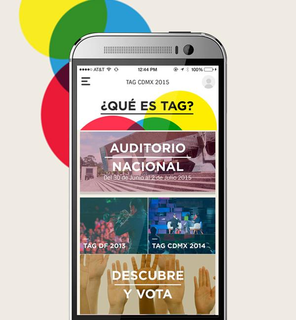 TagCDMX- screenshot