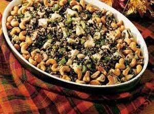 Wild Rice & Chicken Casserole Recipe
