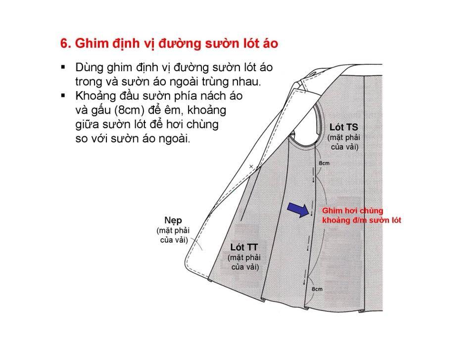 Bảng Size Thông Số Chuẩn Áo VEST NAM-NỮ Và Hướng Dẫn Cách Ráp Áo VEST 33