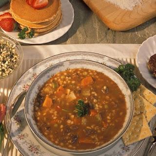 Carrabba's Spicy Sausage Lentil Soup