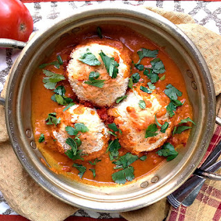 Aloo Kofta (Stuffed potato curry)