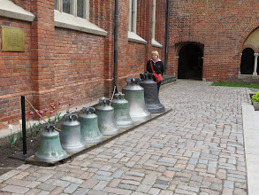 Photo: Bells in Dome Cathedral Courtyard