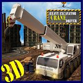 Heavy Excavator Crane Driver