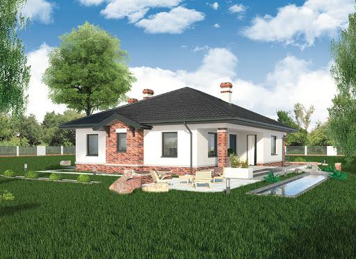 projekt Dom vis-a-vis - C126