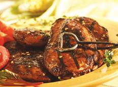 Molasses-mustard Barbecued Chicken Recipe