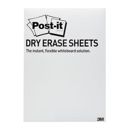 Skrivblad dry erase 27,9x39,0