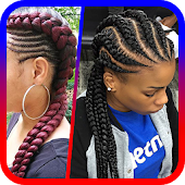 Africa Hairstyle step by step