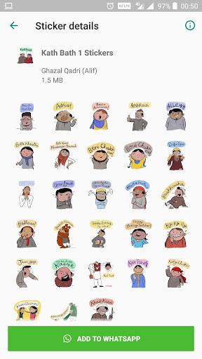 Kashmiri Stickers - (Kath Bath) WAStickerApps 3.1 screenshots 1