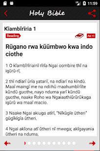Kikuyu Bible