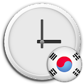 South Korea Clock & RSS Widget