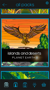 BBC Earth Colouring- screenshot thumbnail