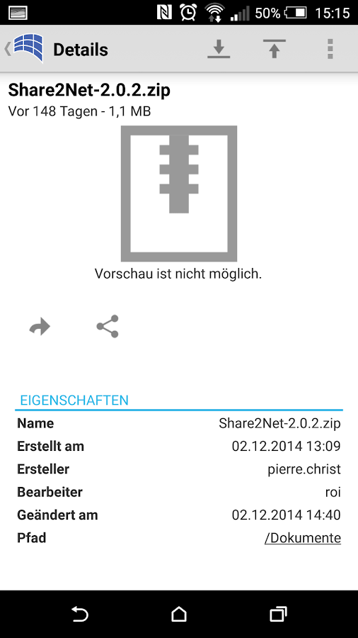 Share2Net- screenshot