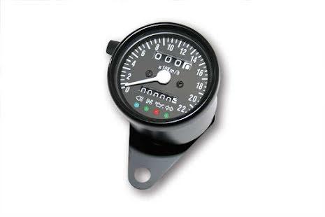 Classic black hastighetsmätare 14-4