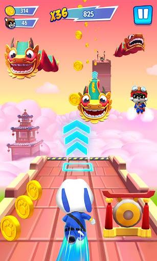 Talking Tom Hero Dash - Run Game screenshot 2