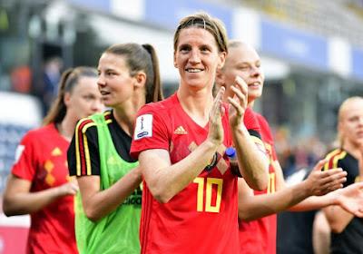 Une grande page de l'histoire du foot féminin belge se tourne: Aline Zeler range ses crampons!